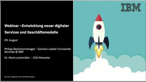 Thumbnail for entry Schnell wie ein StartUp und skalierbar wie ein Corporate. Entwicklung neuer digitaler Services und Geschäftsmodelle