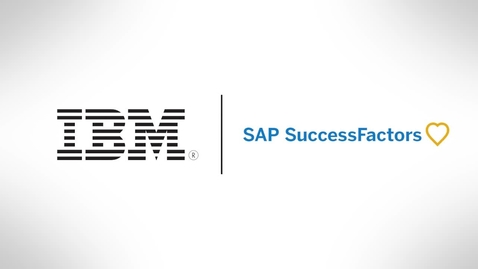 Thumbnail for entry IBM is transforming performance management with SAP SuccessFactors