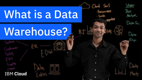 Thumbnail for entry What is a Data Warehouse?