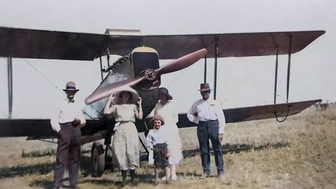 Thumbnail for entry Qantas' earliest days of flight comes to life with AI