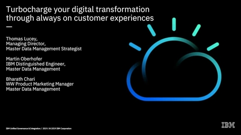 Thumbnail for entry Turbocharge your digital transformation through always-on customer experiences