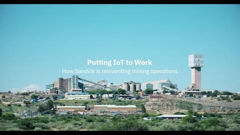 Thumbnail for entry Sandvik : Mettre l'IoT au service du secteur manufacturier