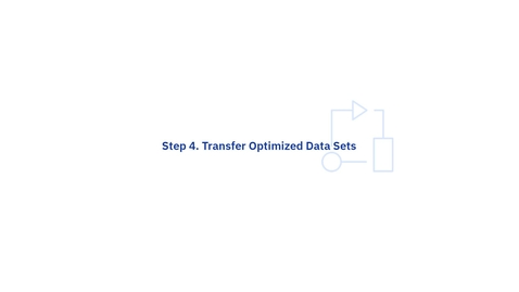 Thumbnail for entry ABO Trial Cloud Service Step. 4 Transfer Optimized Data Sets