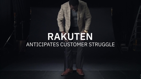 Thumbnail for entry Rakuten anticipates customer struggle