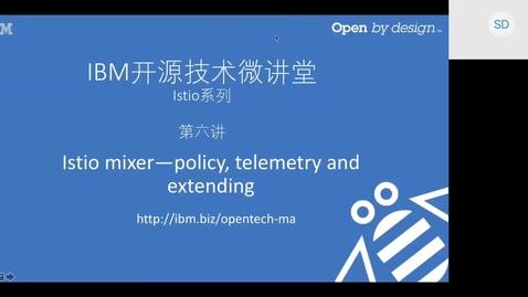 Thumbnail for entry 06_Istio Mixer