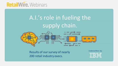 Thumbnail for entry A.I's Role in Fueling the Supply Chain