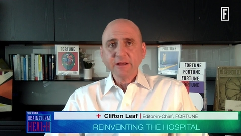 Thumbnail for entry Reinventing the hospital: Emerging smarter