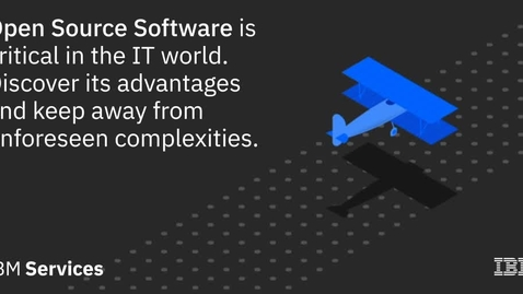Thumbnail for entry OSS is critical in the IT world