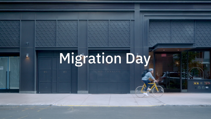 Cloud migration day - seamless and stress free