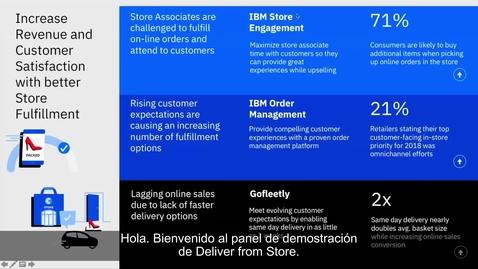 Thumbnail for entry 18024218ESES - IBM en NRF 2019: Enviar desde una tienda