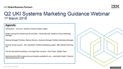 Q2 Systems Guidance Webinar