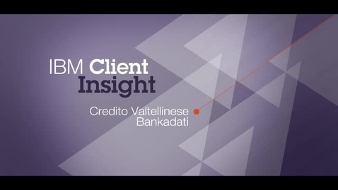 Thumbnail for entry Bankadati uses IBM Business Process Manager to speed business process improvement by over 90%