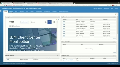 Thumbnail for entry IBM Cloud Deployment Services