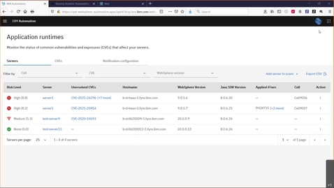 Thumbnail for entry Strengthen Operational Security with IBM WebSphere Automation