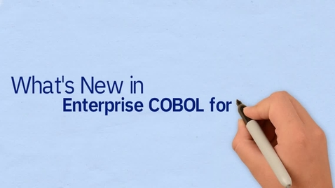 Thumbnail for entry What's new in IBM Enterprise COBOL for z/OS, V6.3