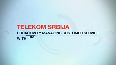 Thumbnail for entry Telekom Srbija cuts operational expenses by 20% using IBM Tivoli software