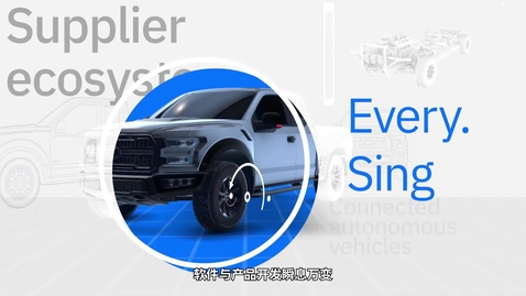 Thumbnail for entry IBM Engineering Lifecycle Management Solutions Help Customers_Chinese Subtitles