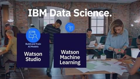 Thumbnail for entry IBM 데이터 사이언스 비디오 시리즈 1편: Watson Studio로 AI 모델 작성