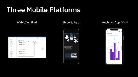 Thumbnail for entry Cognos Analytics for Mobile