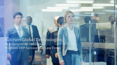 Thumbnail for entry Fulcrum's transformational digital business platform for global law firms enables operational excellence