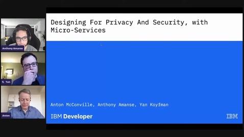 Thumbnail for entry 使用微服务打造隐私性和安全性