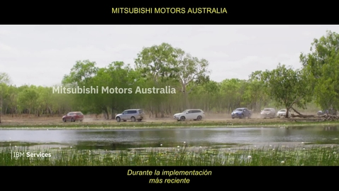 Thumbnail for entry Logrando la escalabilidad a través de la migración a la nube | IBM Services + Mitsubishi Motors Australia - Spanish