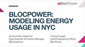Thumbnail for entry Data Science Experience demo Modeling energy usage in NYC