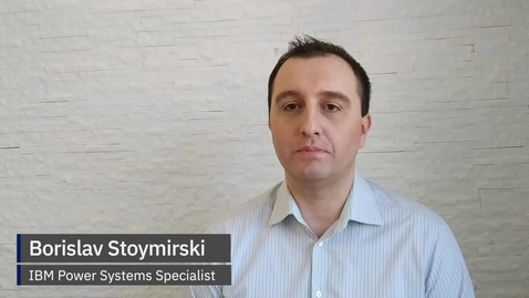 Thumbnail for entry Borislav Stoymirski - PowerVC 2.0
