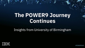 Thumbnail for entry A webinar sharing how AI Infrastructure is supporting growth at the University of Birmingham.