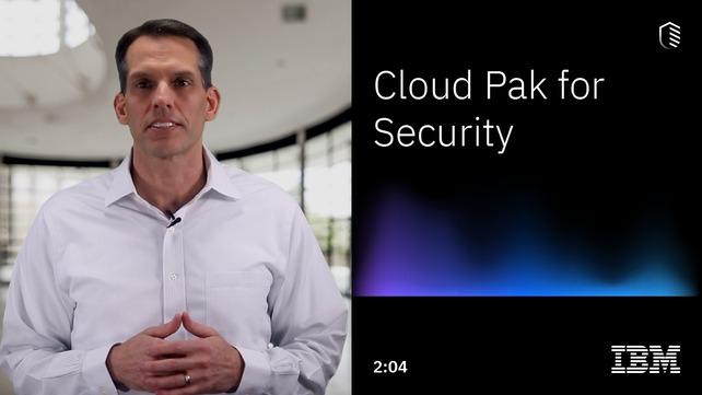 IBM Cloud Pak for Security