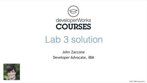 Thumbnail for entry Docker Essentials Lab 3 Solution - Introduction to Orchestration