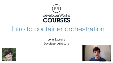 Thumbnail for entry Docker Essentials Lab 3 Overview - Introduction to Orchestration