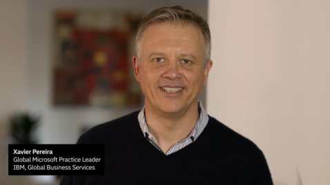 Thumbnail for entry IBM & Microsoft Strategic Partnership