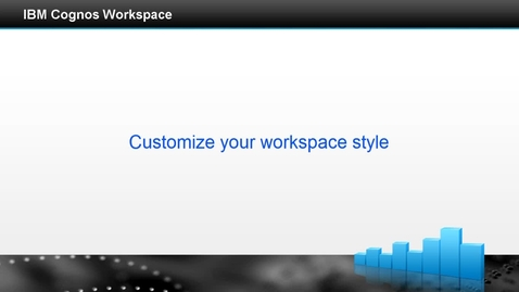 Thumbnail for entry Customize your workspace style