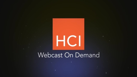 Thumbnail for entry HCI Webinar replay How Customers are Analyzing Engagement Data
