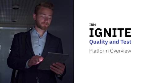 Thumbnail for entry Application Quality and Testing | IBM IGNITE | Demo