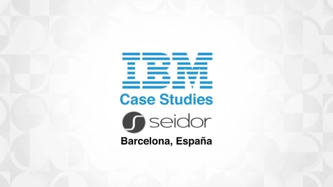 Thumbnail for entry Seidor enhances performance & customer satisfaction with SAP HANA on IBM Power8