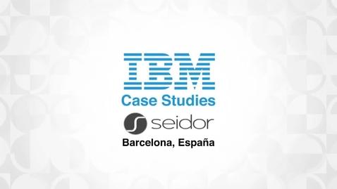 Thumbnail for entry Seidor enhances performance & customer satisfaction with SAP HANA on IBM Power8
