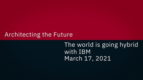 """Thumbnail for entry Join us at our exclusive """"Architecting the Future"""" event!"""