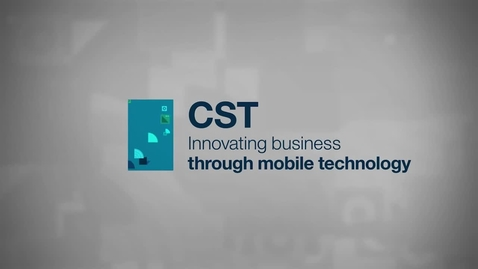 Thumbnail for entry CST: Innovating business through mobile technology