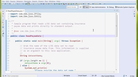 Thumbnail for entry Deploy Java Application to USS