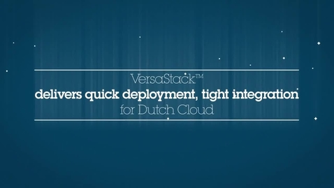 Thumbnail for entry VersaStack and Dutch Cloud