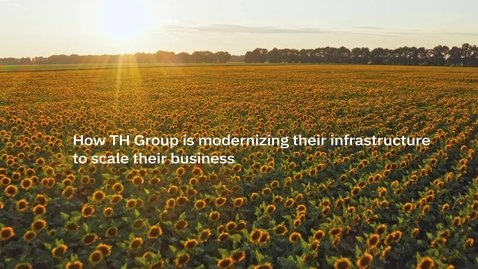 Thumbnail for entry How TH Group is modernizing their infrastructure to scale their business