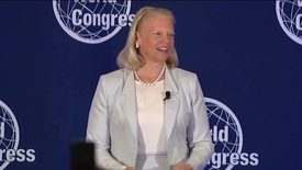 Thumbnail for entry Ginni Rometty Keynote at World Health Congress