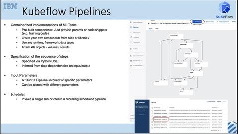 Thumbnail for entry Kubeflow 系列,第 5 讲:从数据到模型发布的端到端机器学习工作流