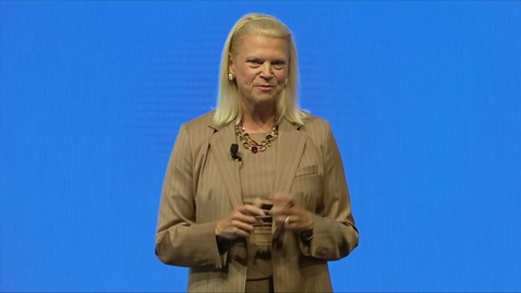 Thumbnail for entry 2019 IAA Conference  - Discussion with IBM CEO Ginni Rometty and Ola Källenius, Daimler AG CEO