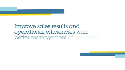 Thumbnail for entry Enhance your sales results with an incentive compensation management solution