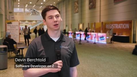 Thumbnail for entry New to Z Spotlight : Devin Berchtold