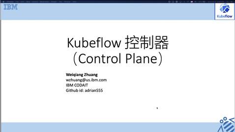 Thumbnail for entry Kubeflow 系列,第 2 讲:使用 Operator 框架管理和部署 Kubelow