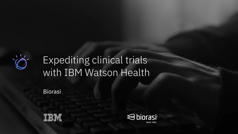 Thumbnail for entry See the success Biorasi has experienced using IBM Clinical Development